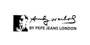 ANDY WARHOL BY PEPE JEANS logo